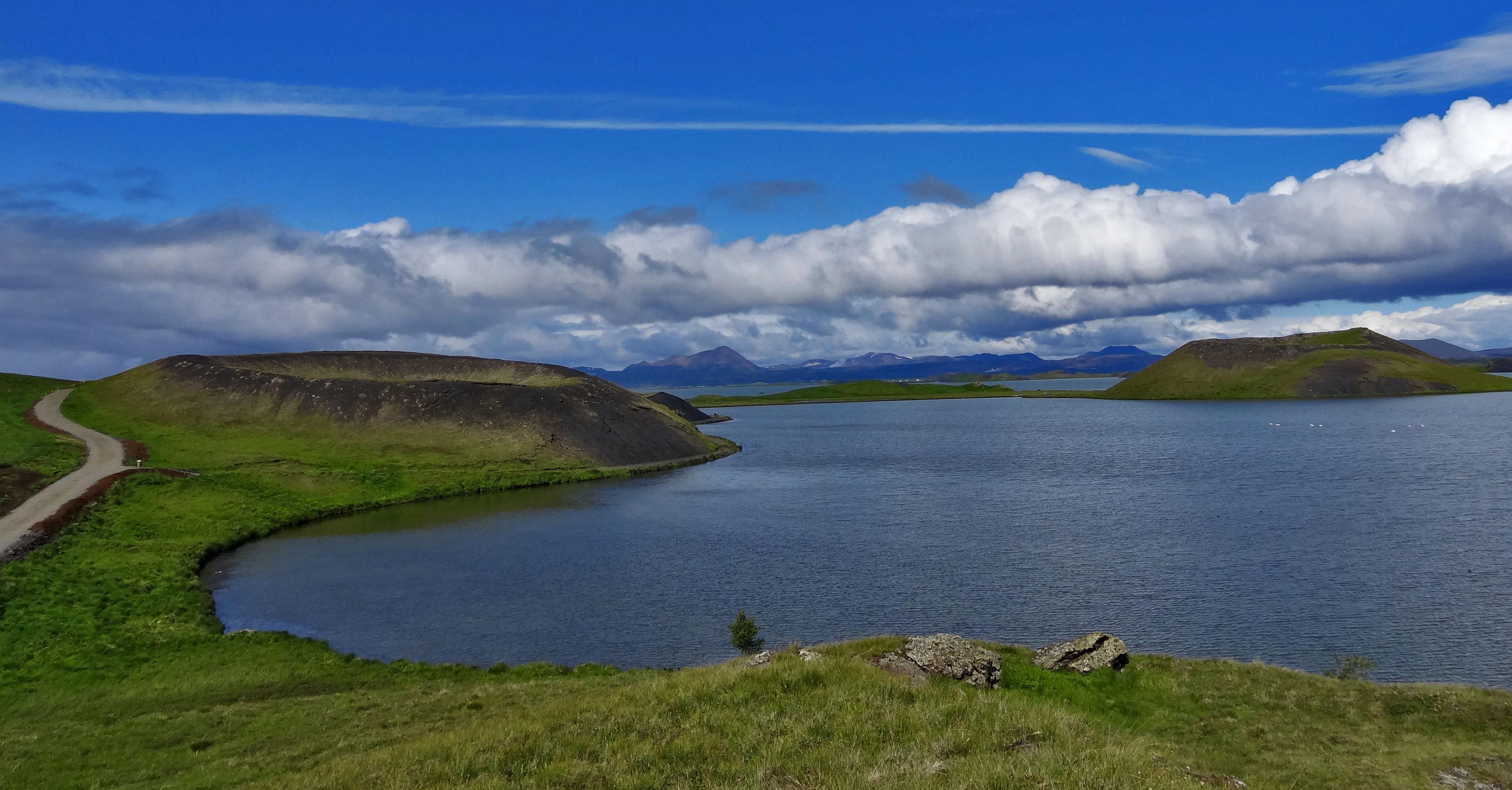 Jezioro Myvatn – spacer po wulkanie i kąpiel w gorących źródłach