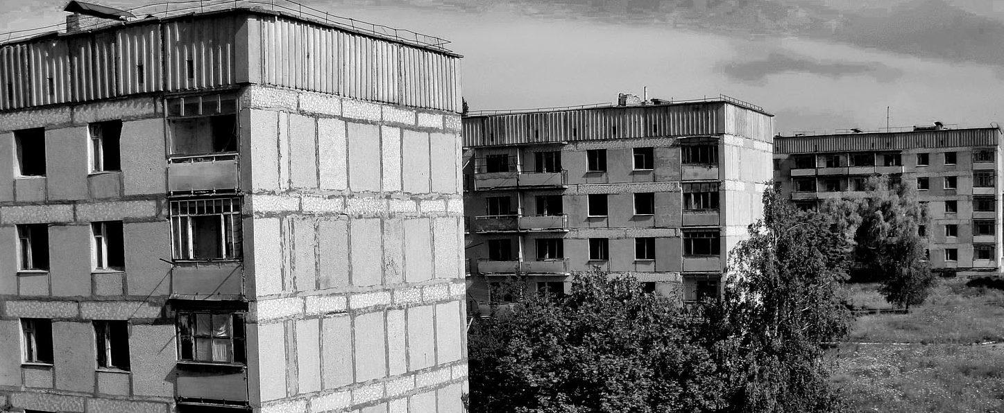 Lipniażka – opuszczone miasto na Ukrainie