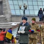 Kijów, Majdan Nezaleznosti. Miejsce zadumy, zbrukane krwią niewinnych ludzi