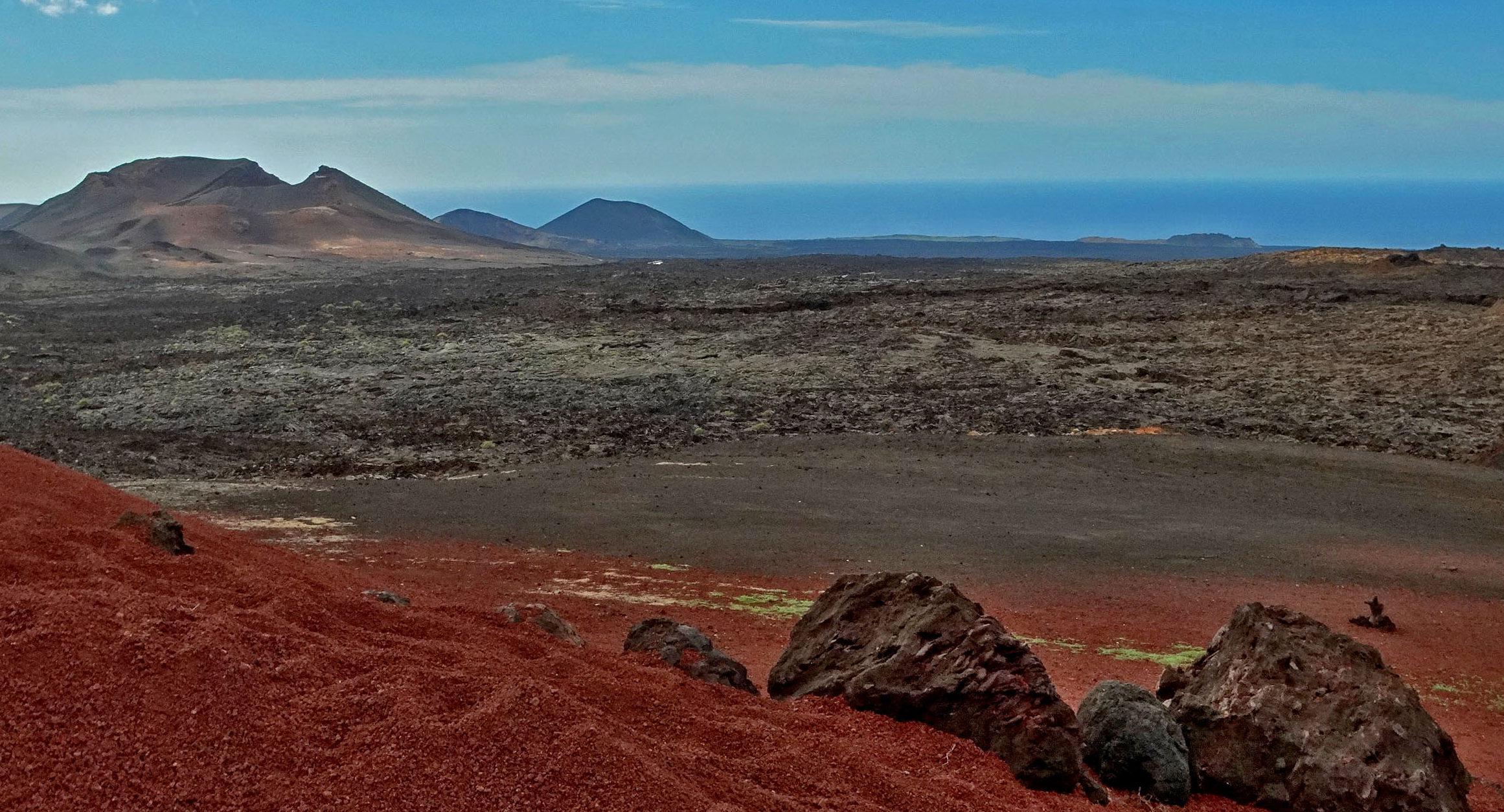Park Narodowy Timanfaya – pola lawowe aż po horyzont