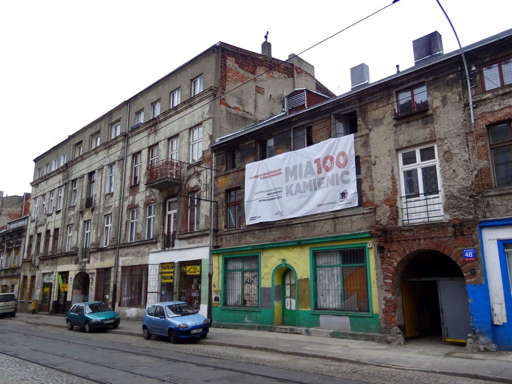 Łódź - stara, opuszczona kamienica. Legionów. Mia100 Kamienic
