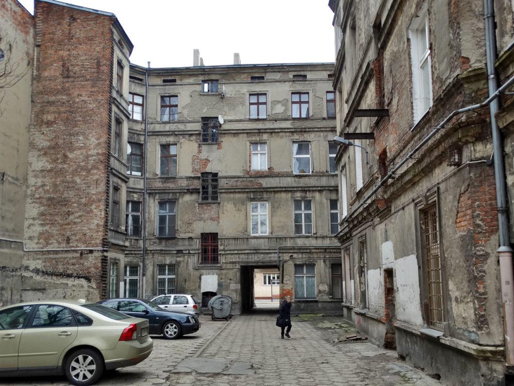 Łódź - stara kamienica