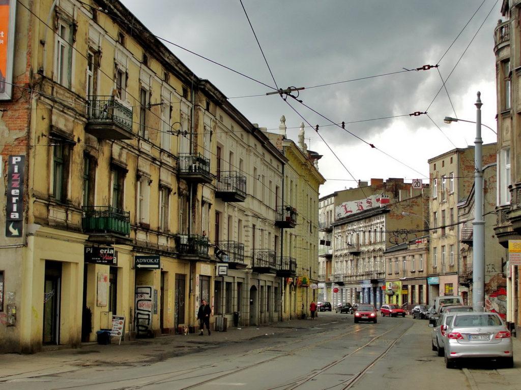 Łódź kamienice, ulica Legionów