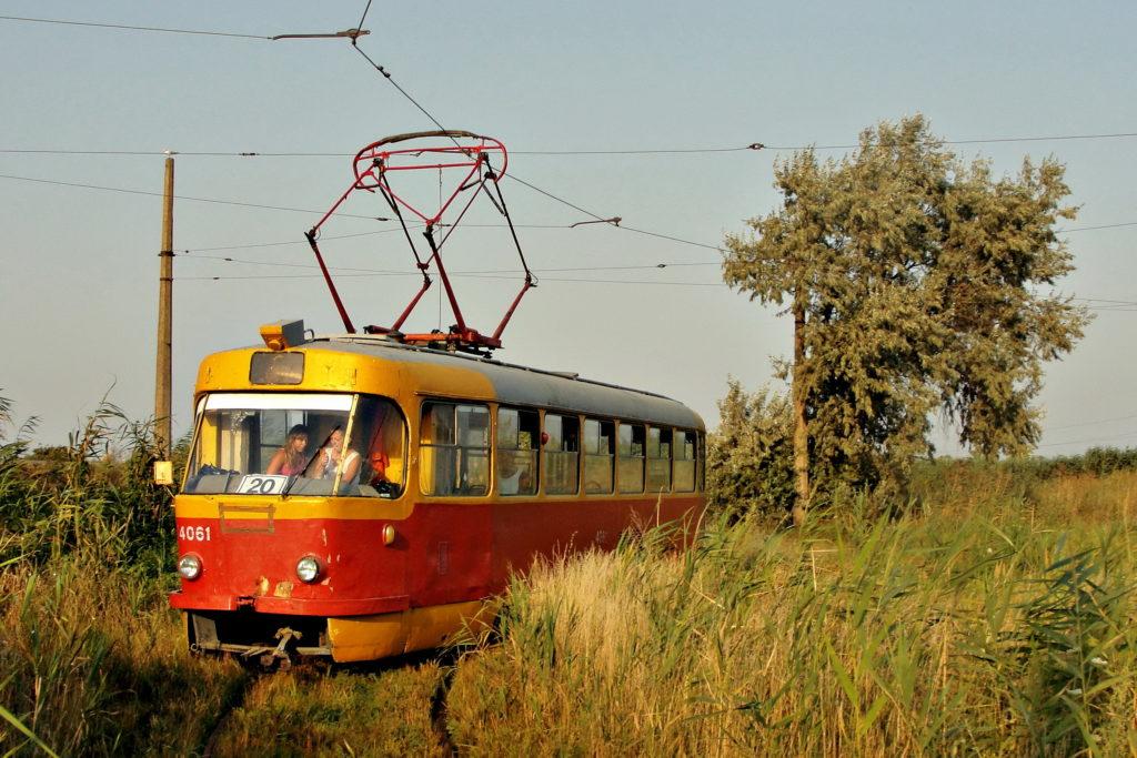 Tramwaje w Odessie, tramwaj przez bagno. Najciekawsze linie tramwajowe świata