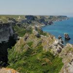 Krym cz. 1. Półwysep Tarchankut - tam gdzie step spotyka się z morzem