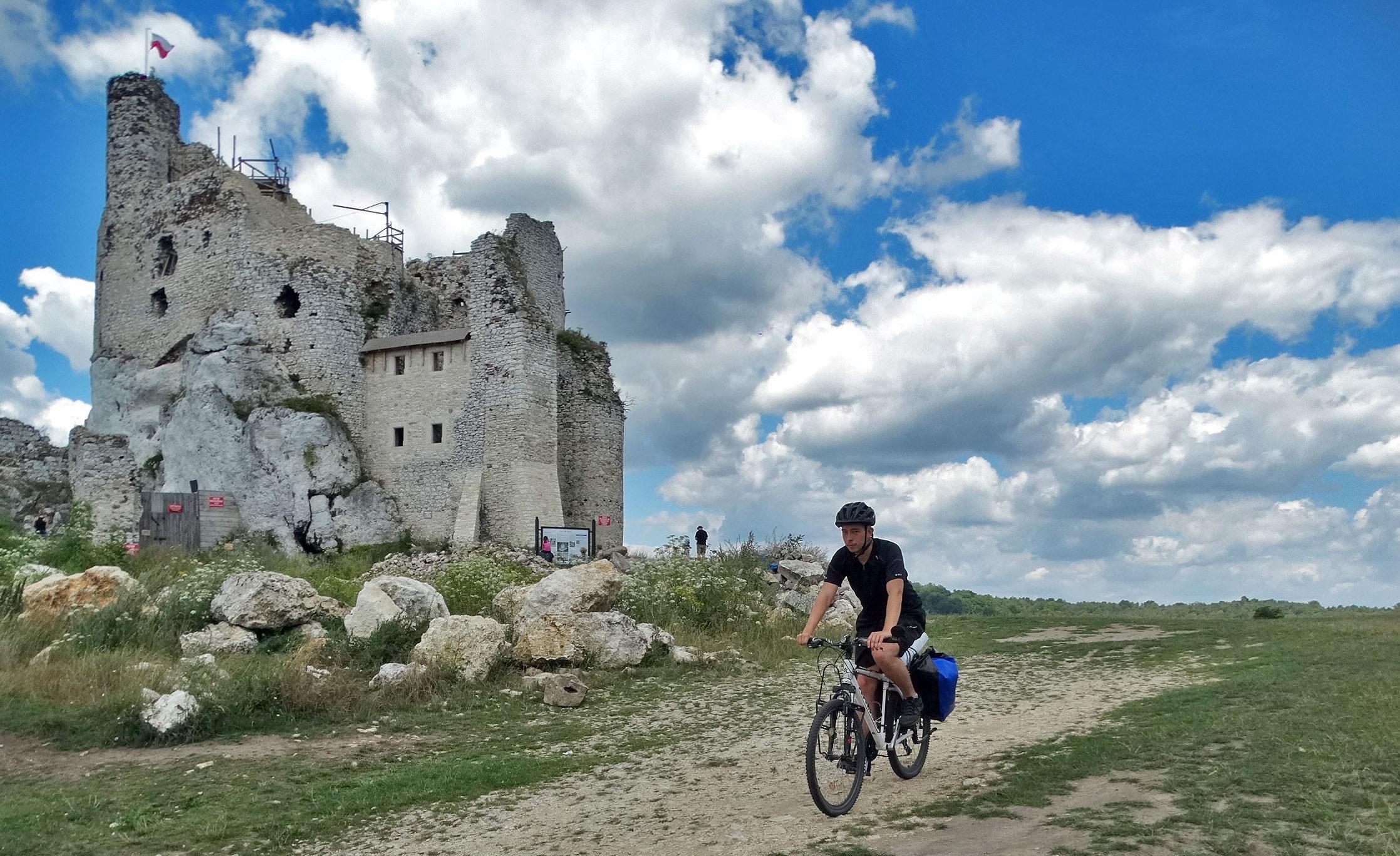 Jura Krakowsko-Częstochowska – rowerowy szlak Orlich Gniazd