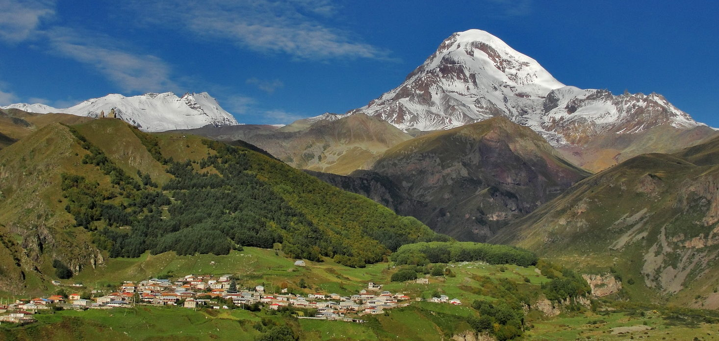 Szlak na Kazbek, gruzińską dumę wysokiego Kaukazu