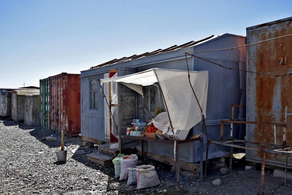 Pamir Highway, Murgob bazar spożywczy