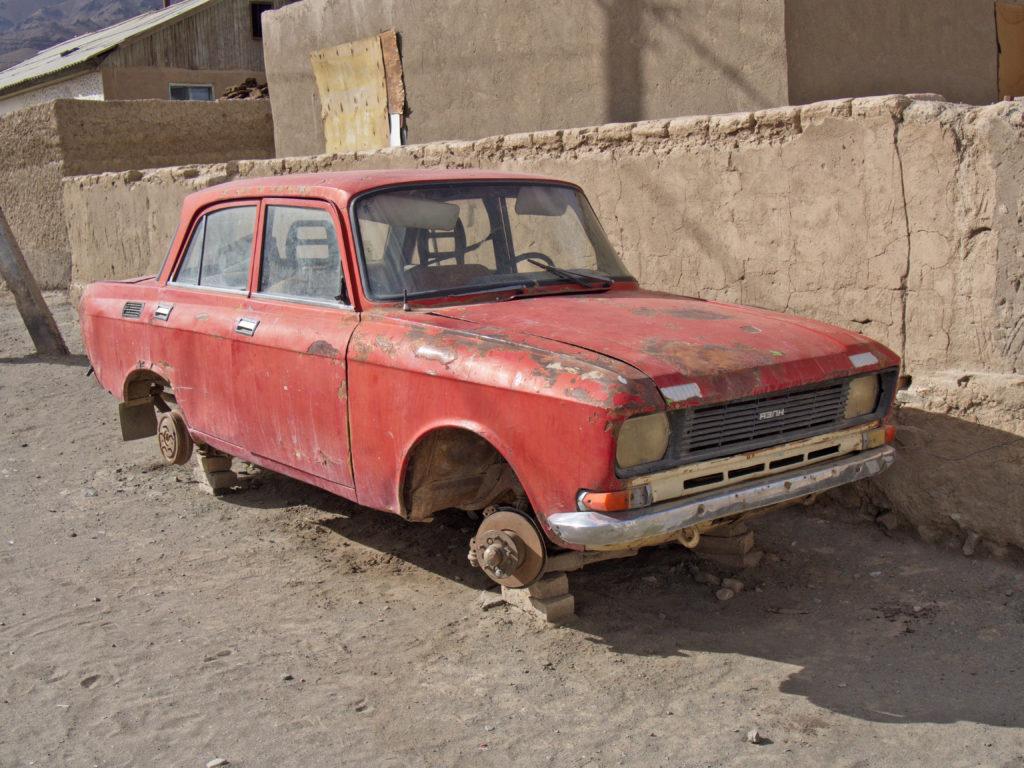 Pamir Highway, Murgob Moskwicz