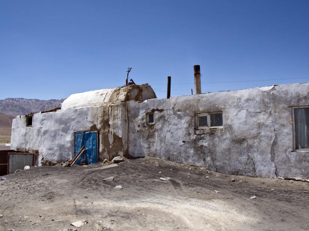 Murgob, Tadżykistan. Ruska bania