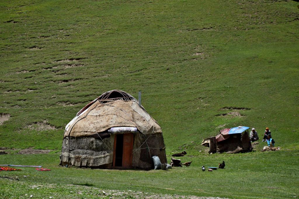 Kirgistan jurta