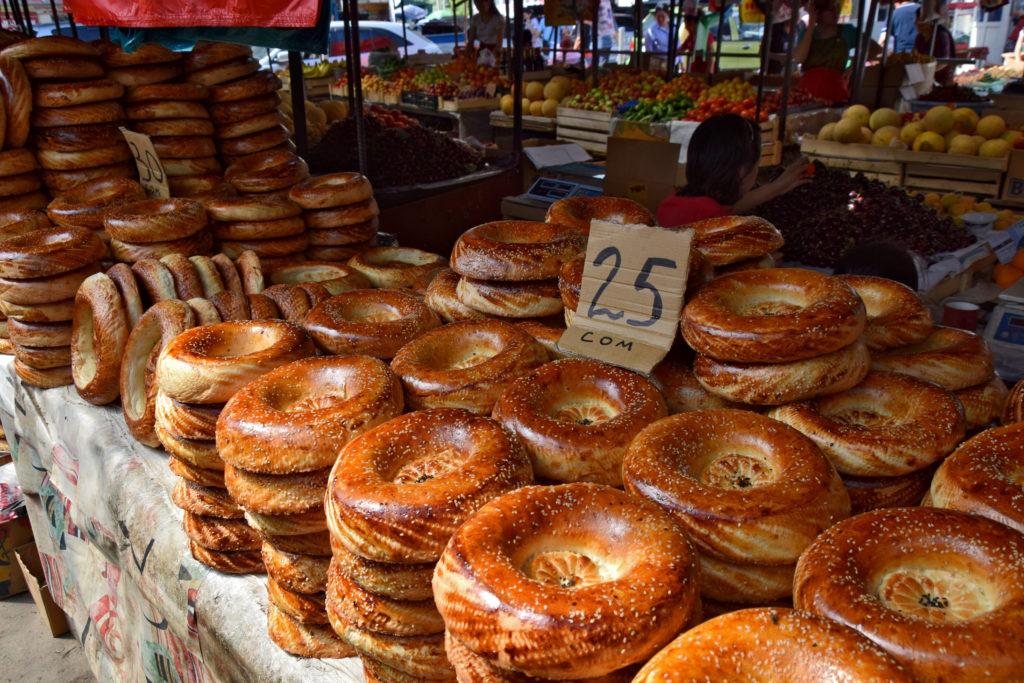 Bazar w Osz - lepioszka