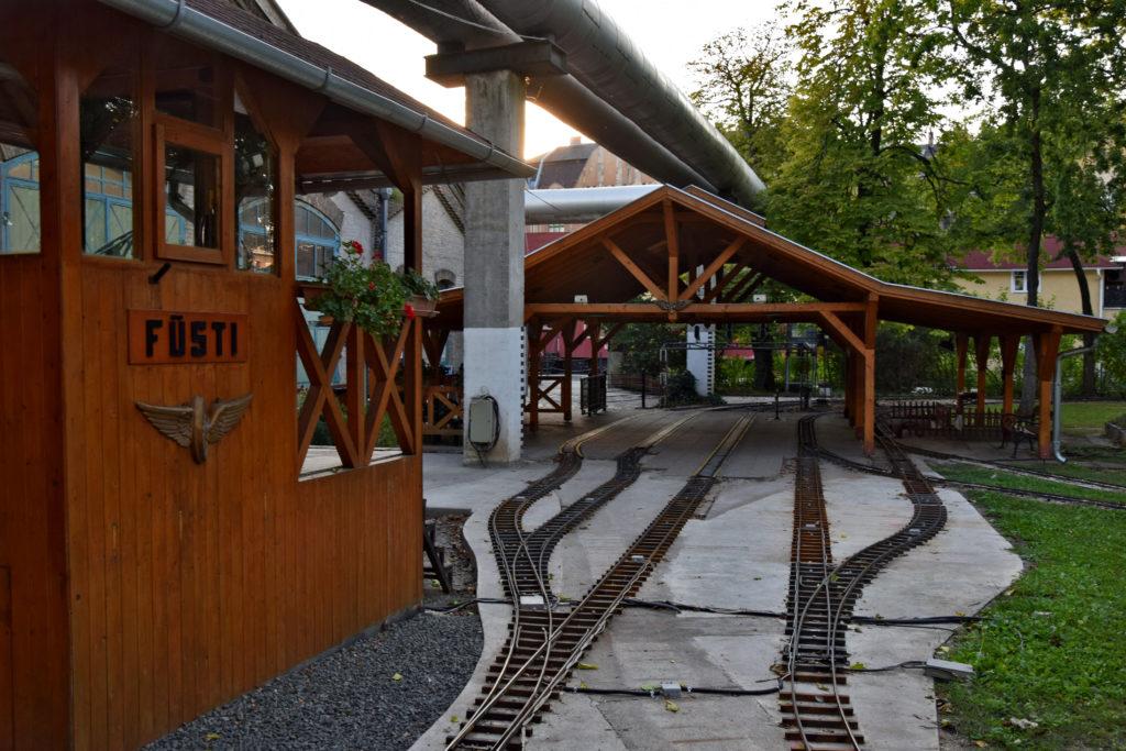 Budapeszt - nietypowe miejsca do zwiedzania. Muzeum kolejnictwa (Magyar Vasuttorteneti Park)