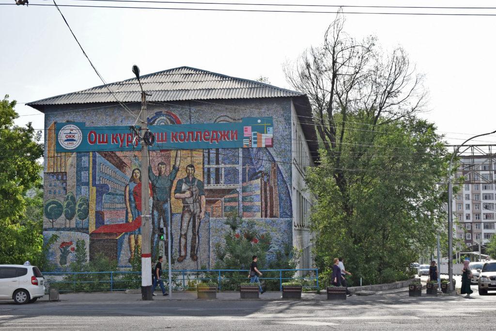 Osz Kirgistan, komunistyczna mozaika