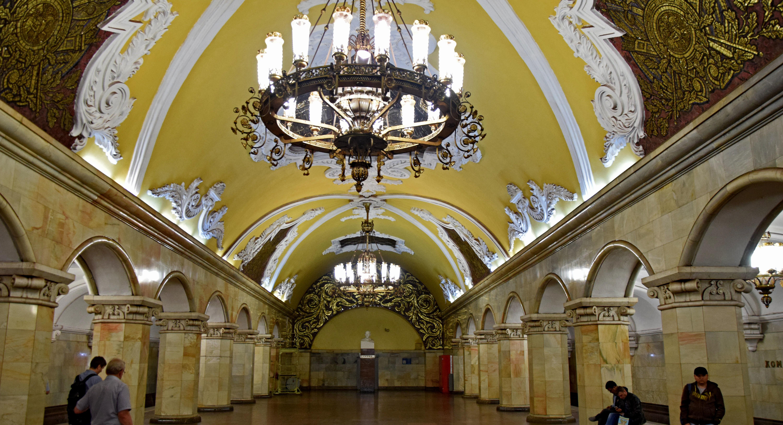 Metro w Moskwie – najpiękniejsze stacje na świecie