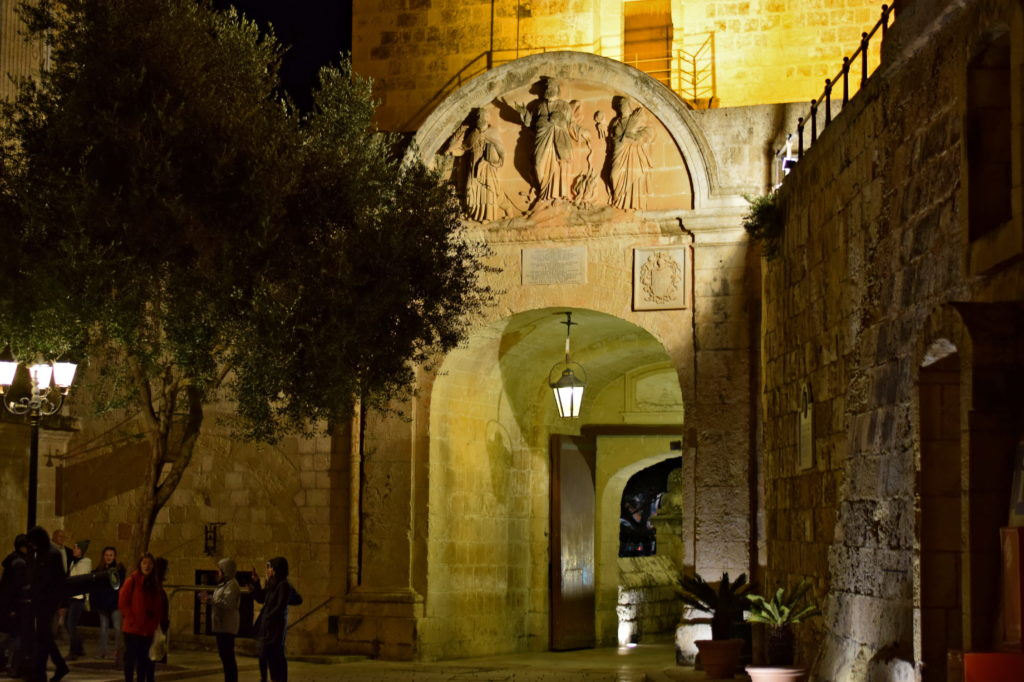 Malta, Mdina nocą