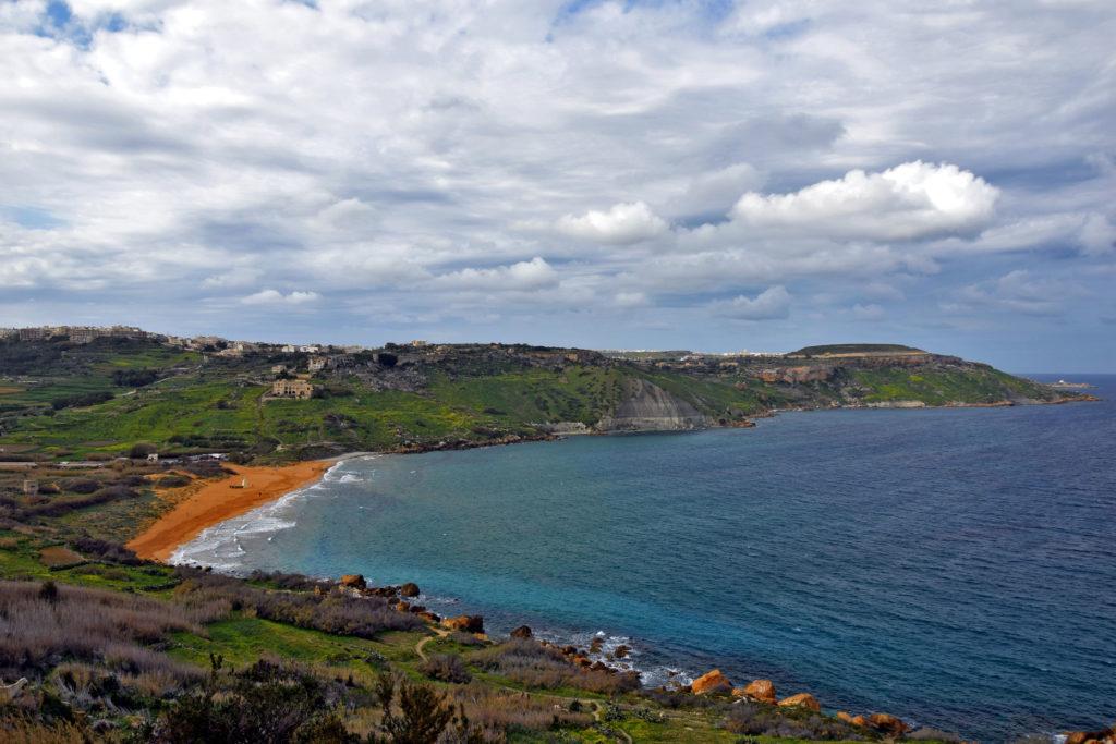 Malta, Gozo - Ramla zatoka. Najpiękniejsze miejsca i atrakcje