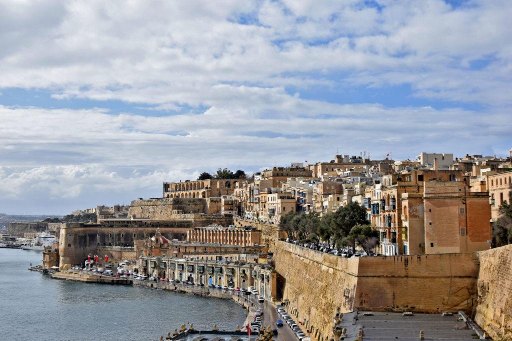 Malta, Valetta widok