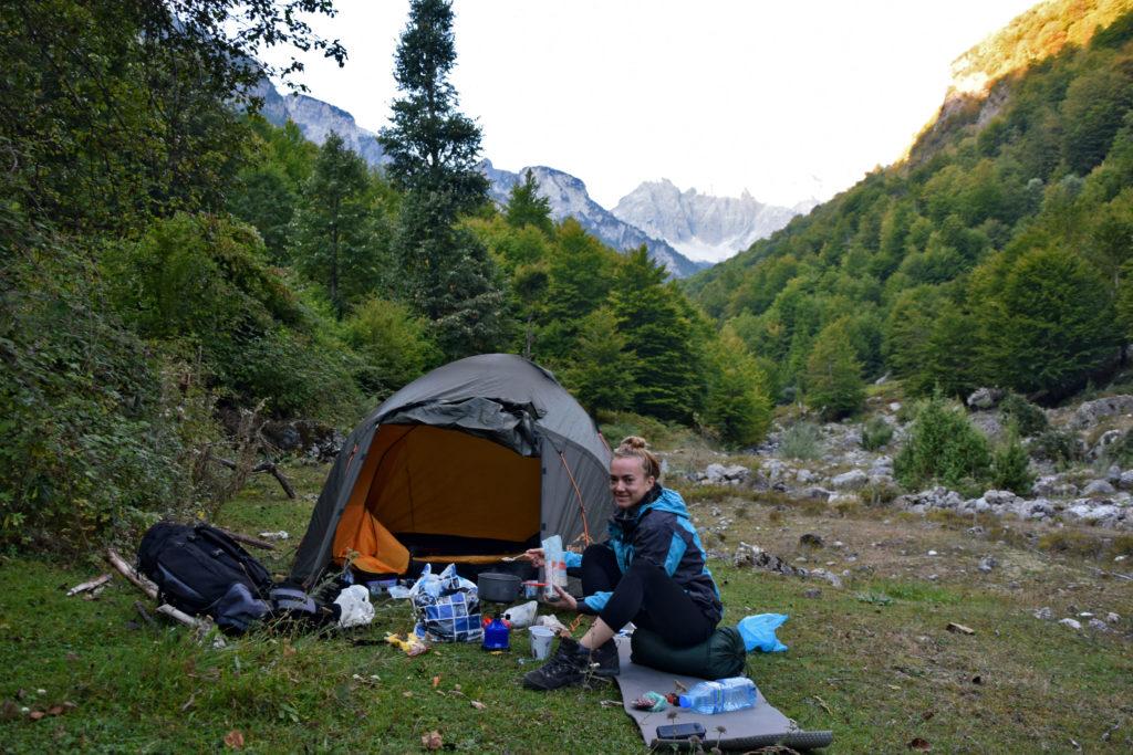 Góry Przeklęte Albania trekking