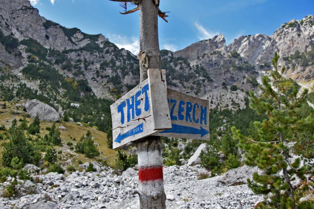 Góry Przeklęte Albania - Theth, Maja e Jezerces.