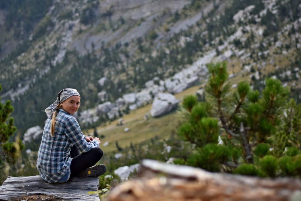 Albania, Góry Przeklęte widok.