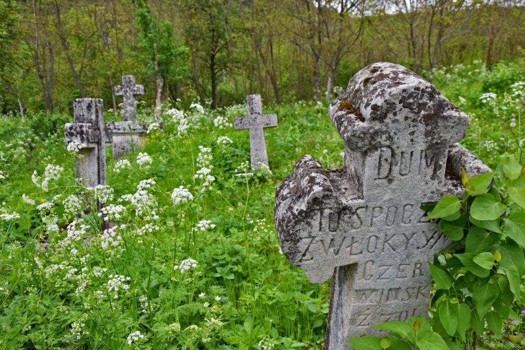Naddniestrze, Republika Naddniestrza - Raszków, polski cmentarz.