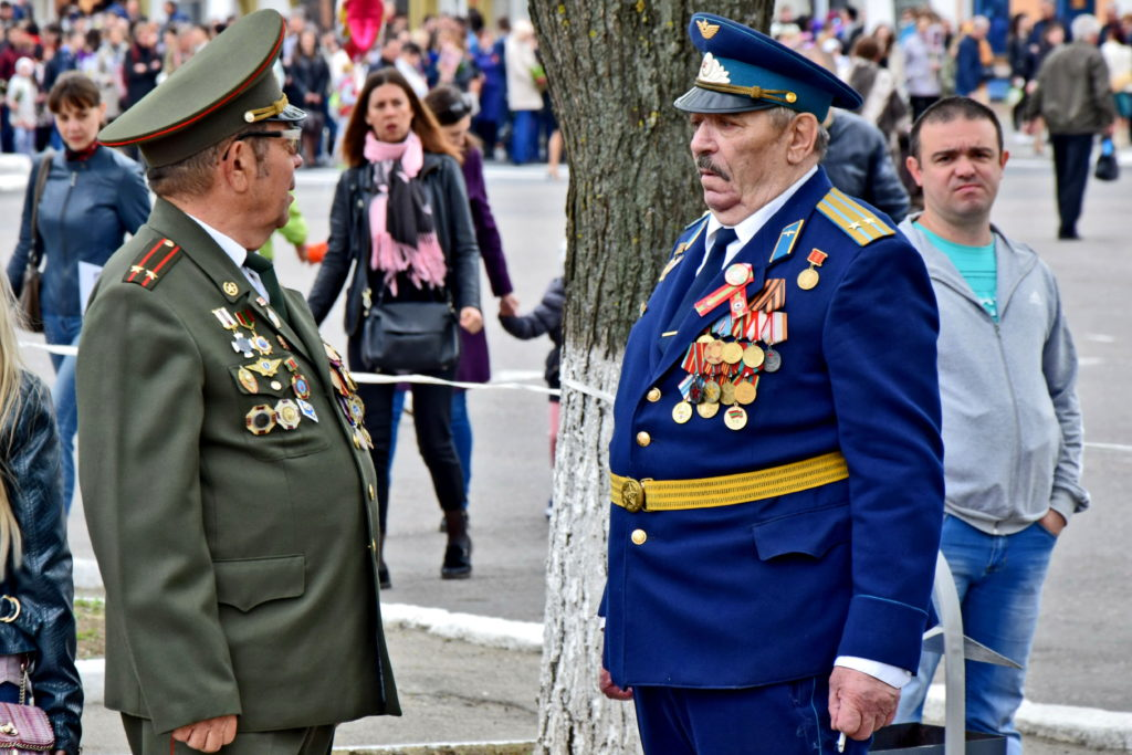 Naddniestrze, Republika Naddniestrza - obchody Dnia Zwycięstwa Tyraspol 9 maja.
