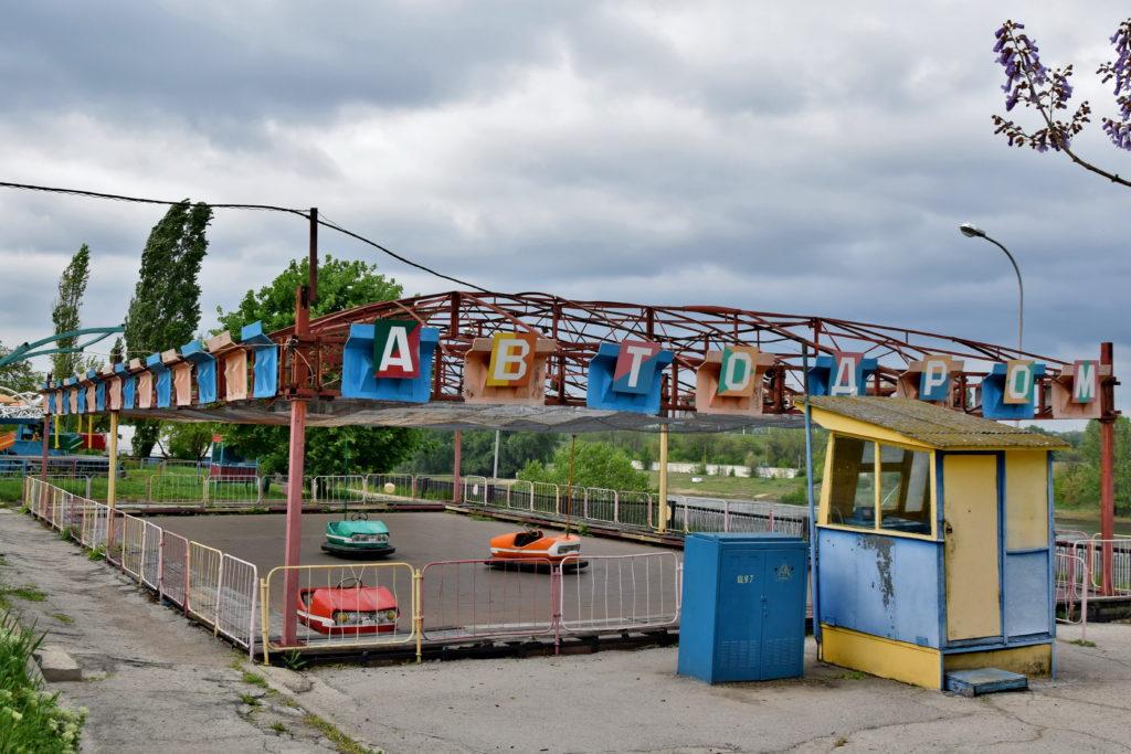 Naddniestrze, Republika Naddniestrza - Bendery, wesołe miasteczko.