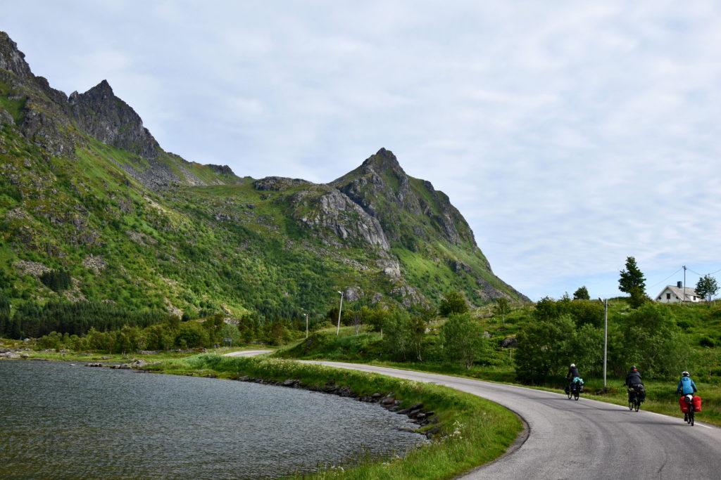 Norwegia, Lofoty. Wyprawa rowerowa.