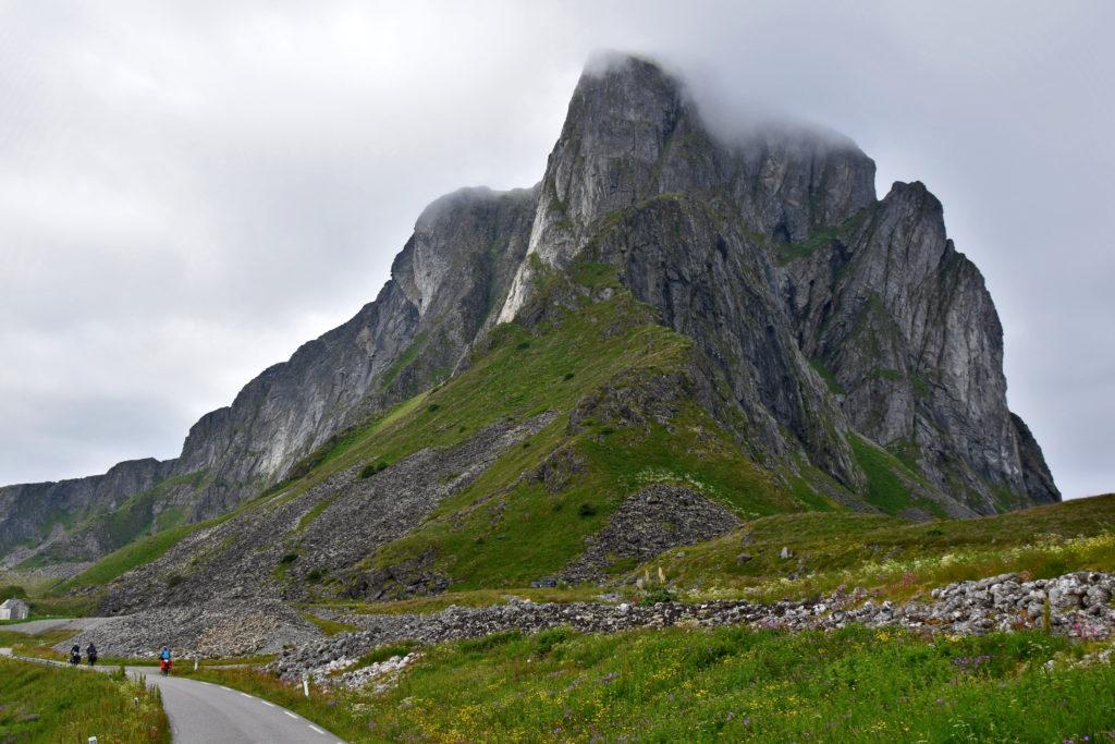 Norwegia, Lofoty, wyspa Vaeroy.