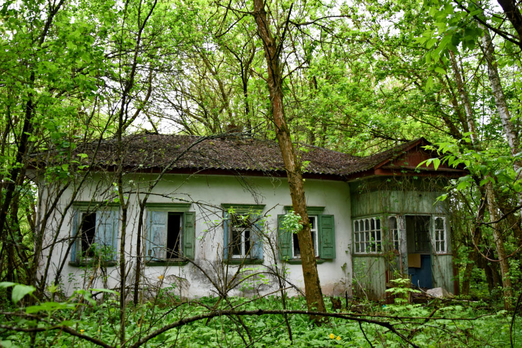 Zalissya - Czarnobyl strefa. Opuszczony dom