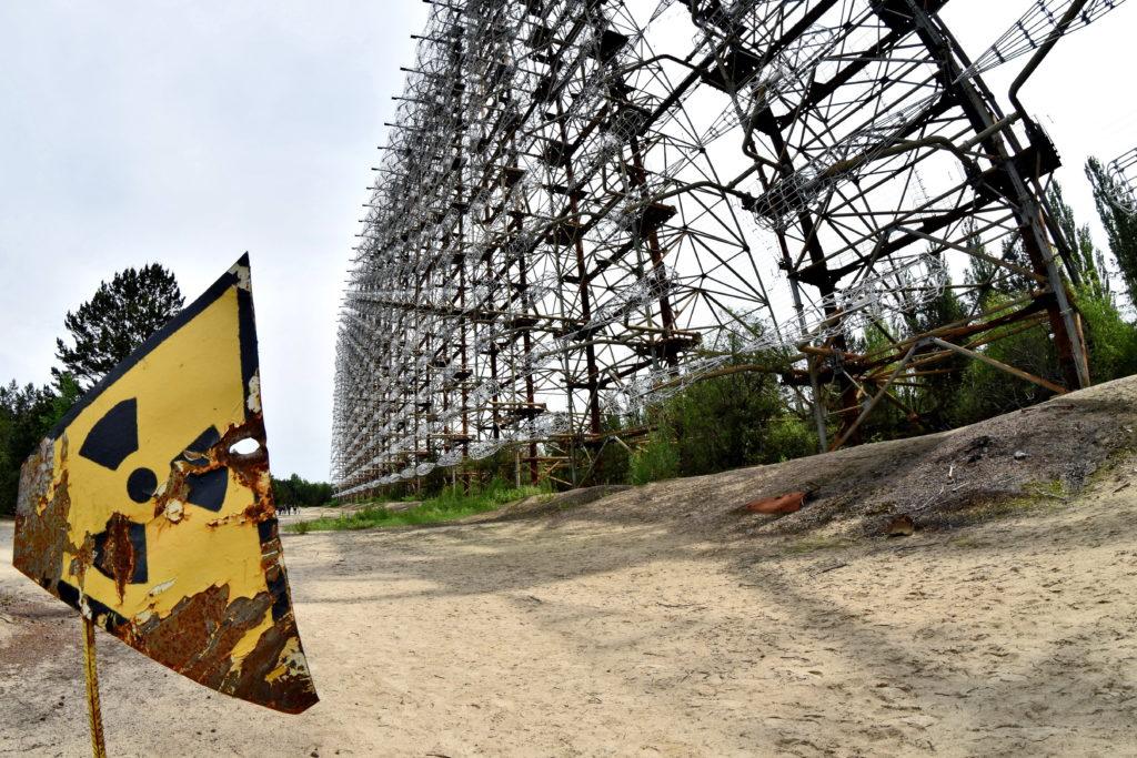 Radar Duga, Czarnobyl