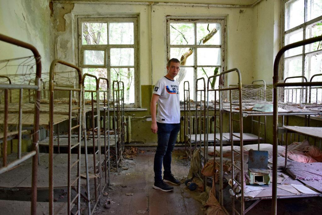 Czarnobyl, przedszkole opuszczone