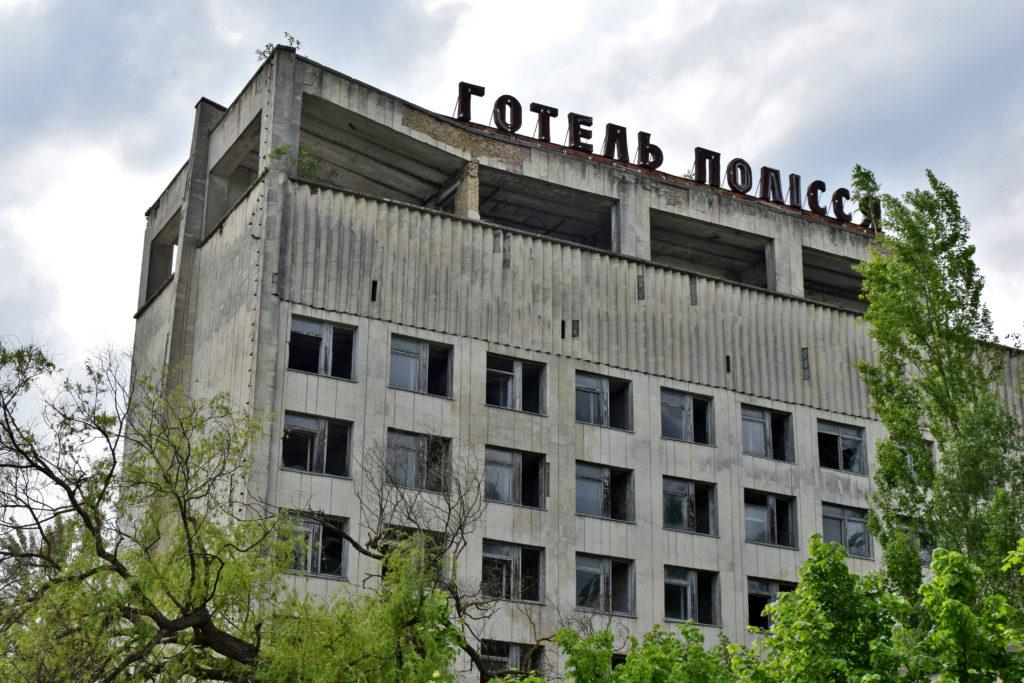 Prypeć, Czarnobyl. Hotel Polesie. Opuszczone miejsca