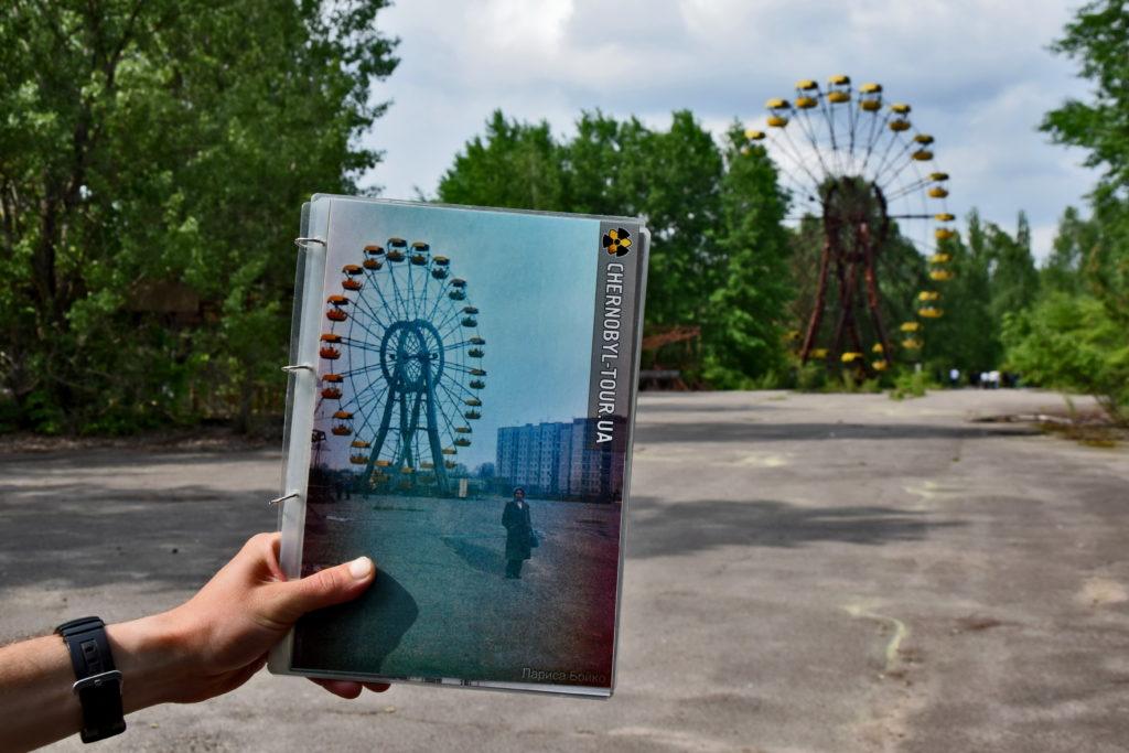 Czarnobyl, Prypeć. Wesołe miasteczko, diabelski młyn