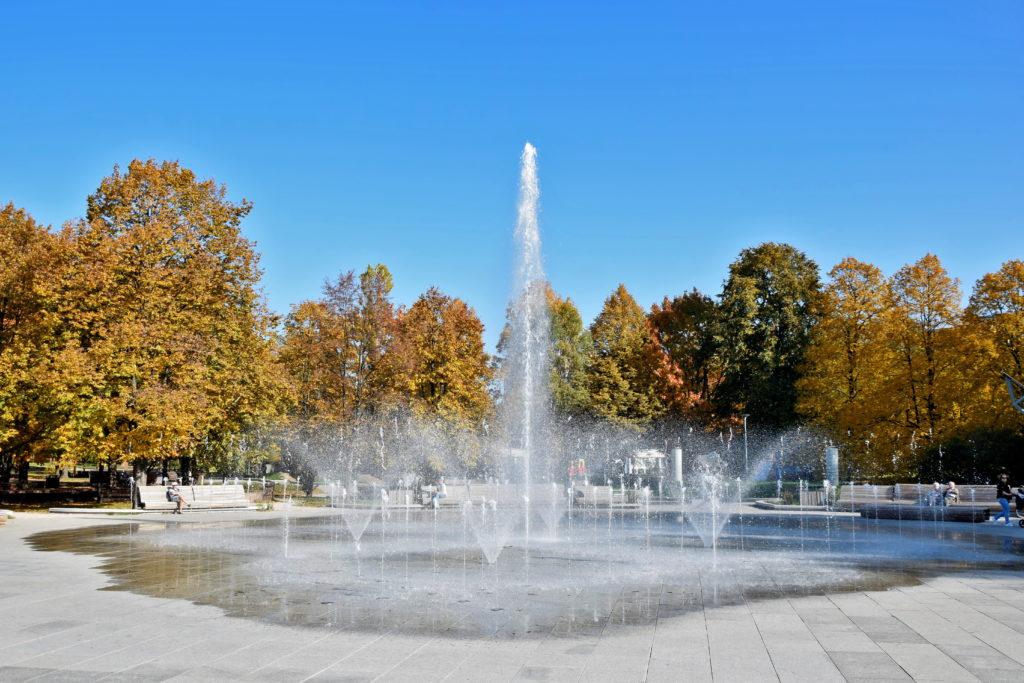 Warszawa, park Szymańskiego