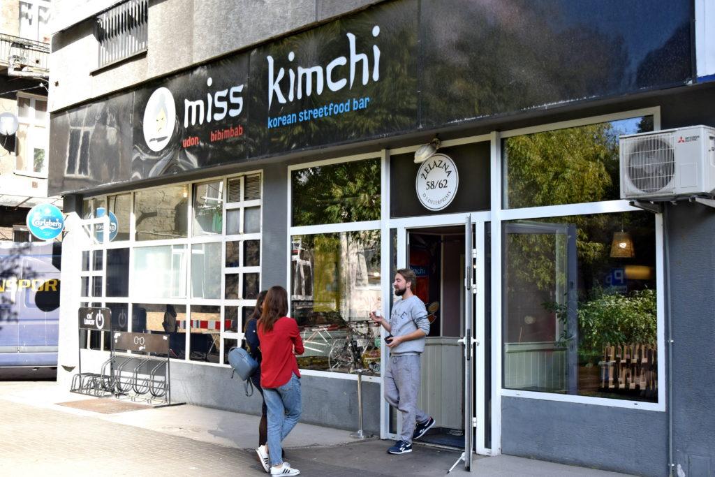 Warszawa, restauracja miss kimchi ulica Żelazna.
