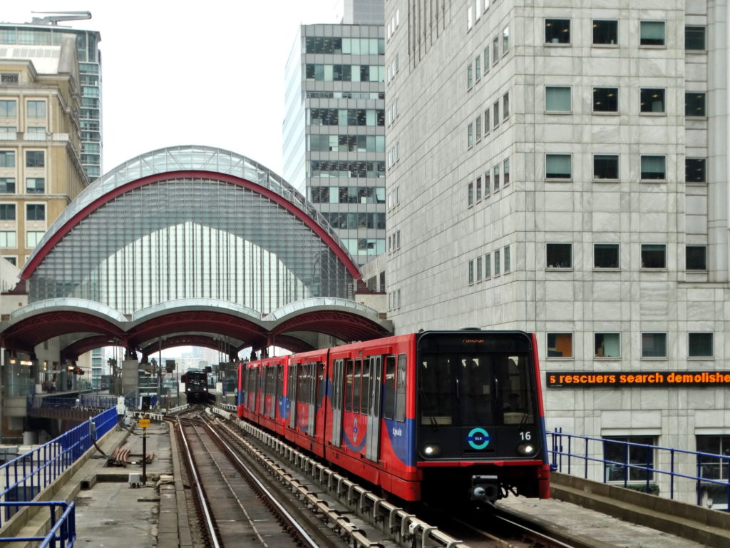 Docklands Light Railway w Londynie