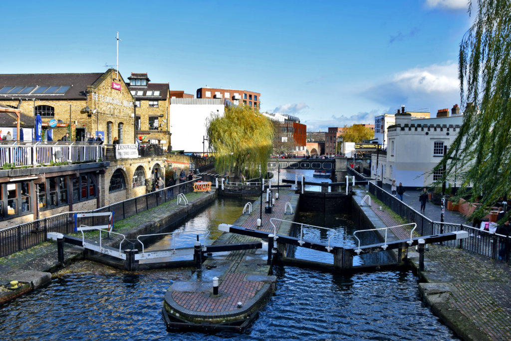 Camden Market - Little Venice - nietypowe miejsca w Londynie.