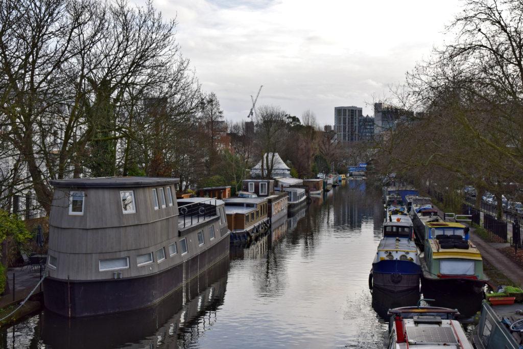 Little Venice - nietypowe miejsca w Londynie.