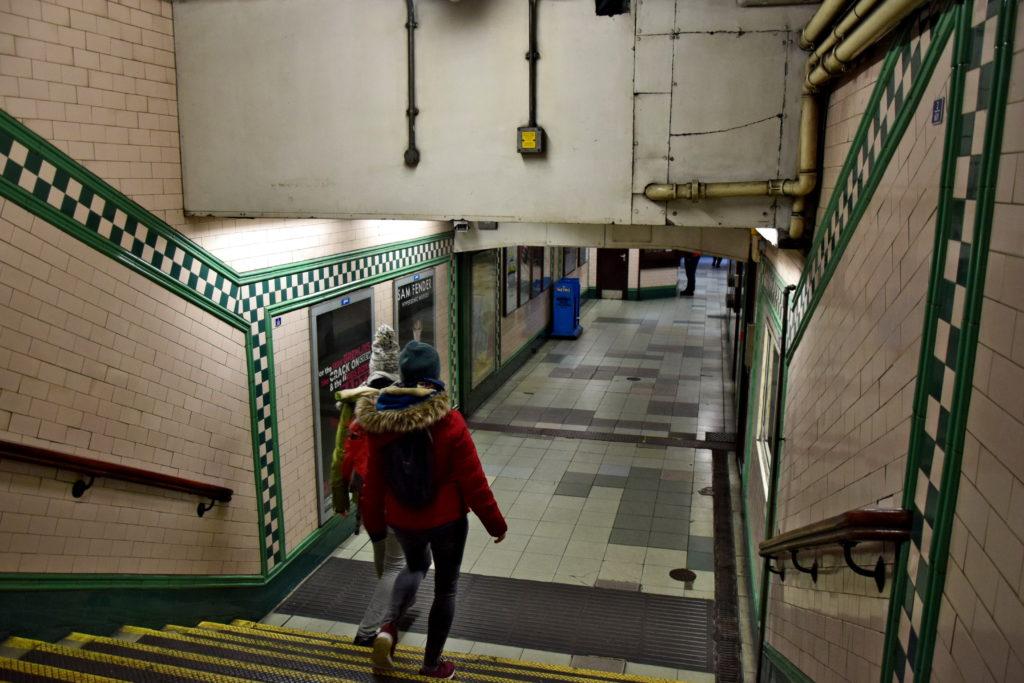 Metro w Londynie - wystrój stacji