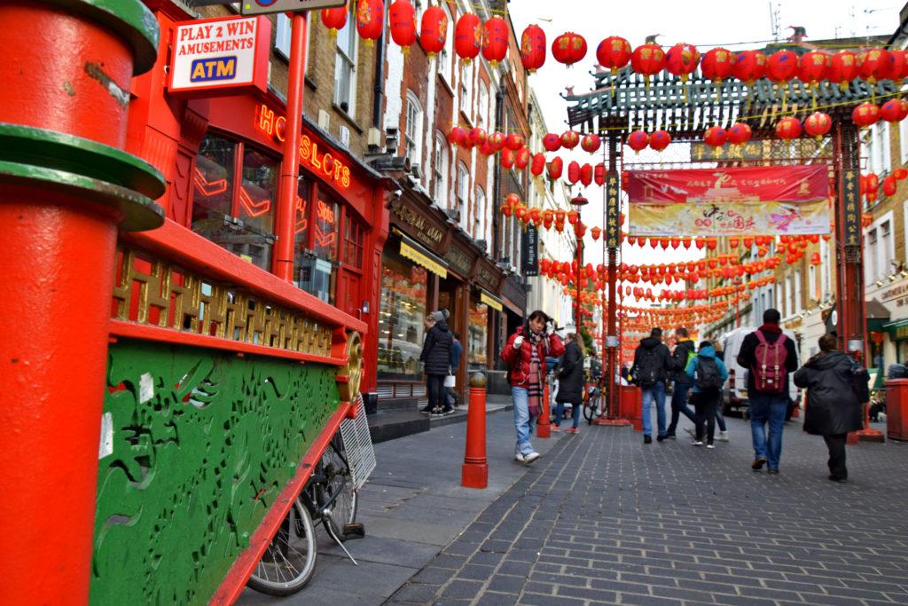 Londyn - Chinatown