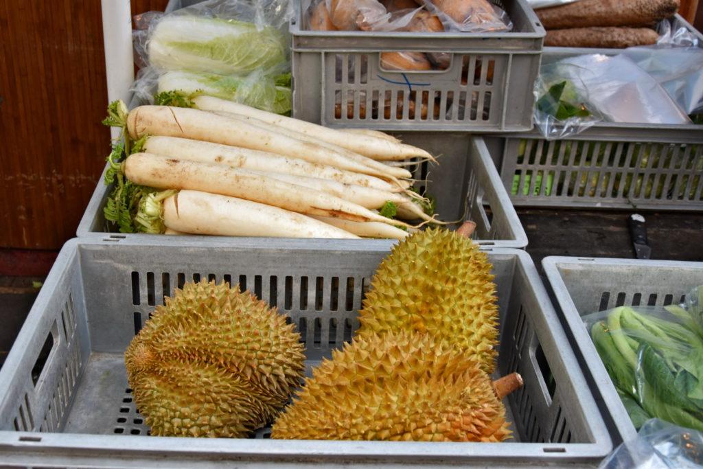 Londyn, nietypowe miejsca: Durian w Chinatown