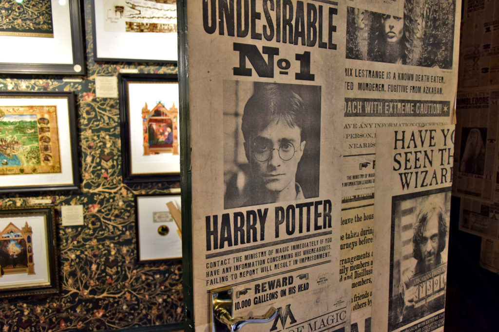 Londyn, Harry Potter. House od MinaLima