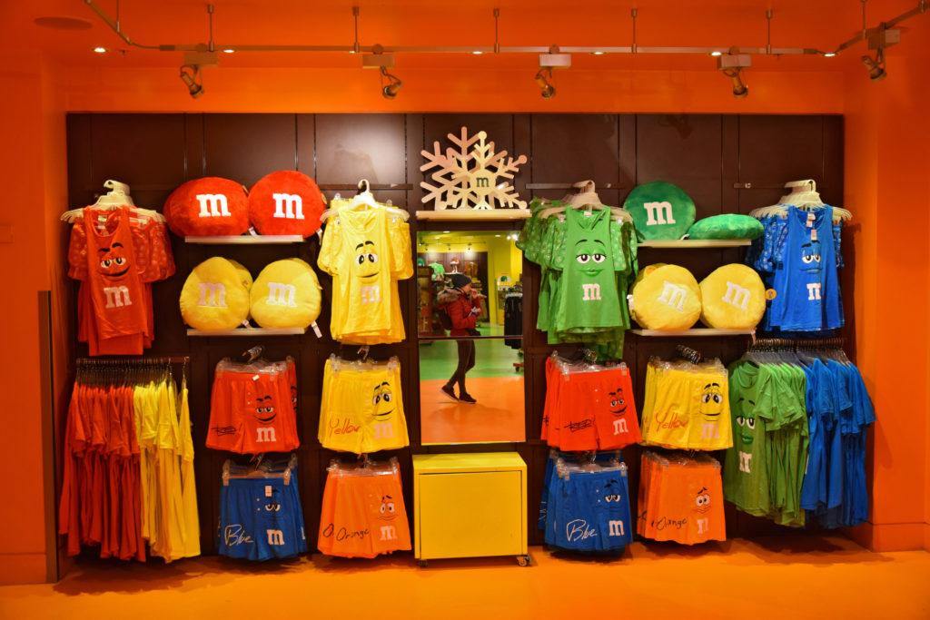 Londyn - Supermarket M&M's