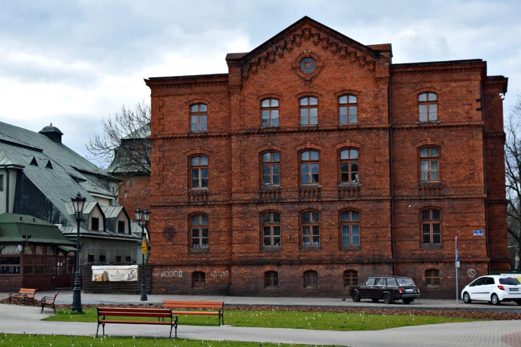 Żyrardów, Dawny budynek magistratu jest dzisiaj miejskim domem kultury.