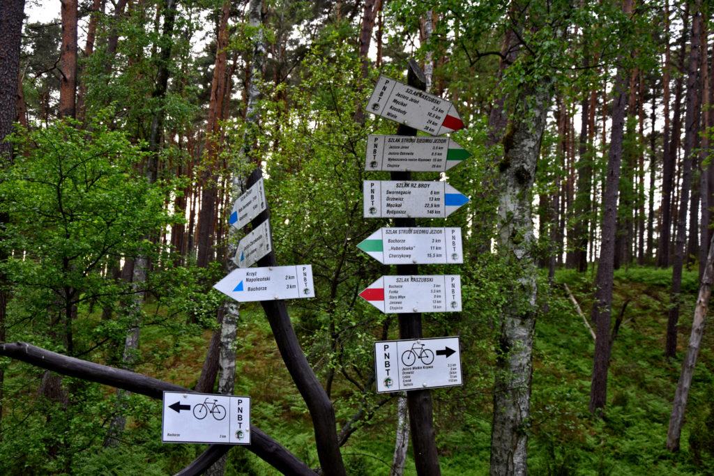 Kaszubski Park Narodowy - szlaki