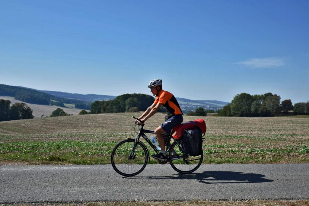 Ścieżki rowerowe w Niemczech. Saksonia