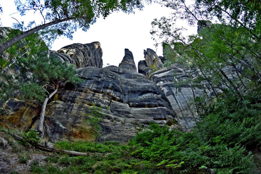 Saksońska Szwajcaria skały