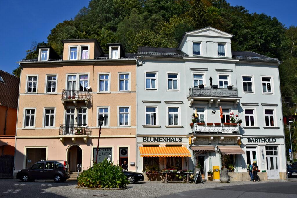 Bad Schandau uzdrowisko kamienica stare miasto